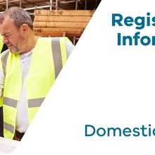 Registration Information Session: Domestic Builder