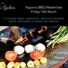 Yagoona BBQ Masterclass- Friday 13th March 2020