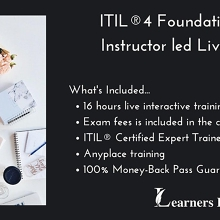 ITIL®4 Foundation 2 Days Certification Training in Burnie