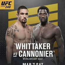 UFC 248 - Whittake vs. Cannonier at Hinterland Hotel
