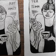 Milk Carton Printmaking with Emilie Walsh