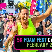 The 5K Foam Fest - Canberra