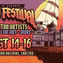 Rites of Passage Tattoo Festival l Melbourne-2020