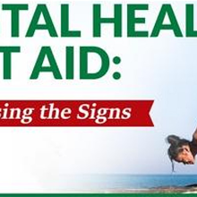 Three 4-hour Summer Sessions of Standard Mental Health First Aid