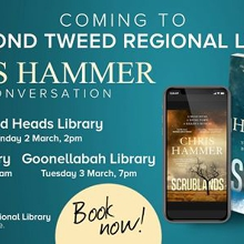 Chris Hammer in Conversation - Tweed Heads Library