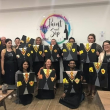 Paint and Sip Experience Liverpool