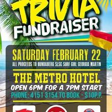 Hawaiian Shirt Trivia - Surf Life Saving Fundraiser