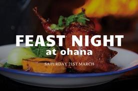 FEAST NIGHT at Ohana