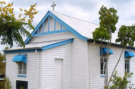 Mass - Mt Larcom Church (Stage 3, from 2nd August 2020)