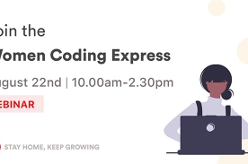 [WEBINAR] Women Coding Express ⚡️