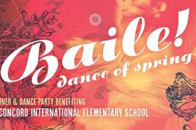 CANCELED: Baile de Primavera! — 2020 Dinner/Dance Party benefiting Concord