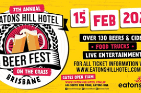 7th Annual Eatons Hill Hotel Beer Fest On The Grass