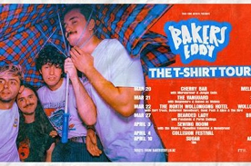 Bakers Eddy // T-Shirt TOUR // Adelaide
