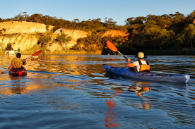 Guided Sunset Kayak Tour, Riverland South Australia
