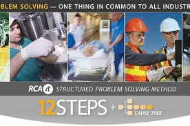 TAS Root Cause Analysis (RCA) 12 Steps + Cause Tree | 2 day | RCARt