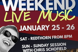 Aus Day Weekend of live music