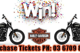 Two Harleys To Be Won