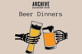 Stone & Wood and Fixation Beer Dinner - Archive Beer Boutique