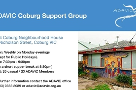 Meetup - ADAVIC Coburg Anxiety/Depression Support Group