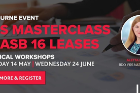 IFRS Masterclass - AASB16 Leases