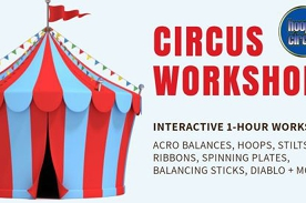 Hoopla Circus - Circus Workshops