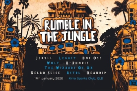 Electric Dreams present: Rumble In The Jungle! ft. Jekyll, Doc Osc & Legacy