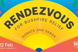 Rendezvous 'for bushfire relief'.