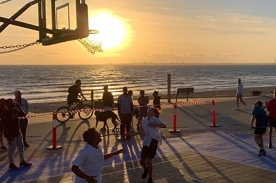 Youth Basketball 3 on 3 Comp - St Kilda Beach