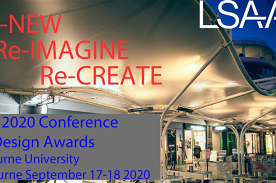 """LSAA 2020 Conference """"Re-NEW Re-IMAGINE Re-CREATE"""" and Design Awards"""