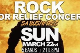 POSTPONED - Rock for Relief Concert