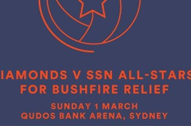 Netball All-Star Game for Bushfire Relief - Sydney