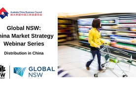 Global NSW - Setting up distribution in China