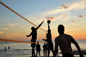 Republica Beach Volleyball at St Kilda Beach