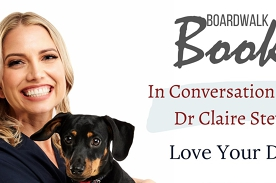 Author event: In Converstation with Dr Claire Stevens
