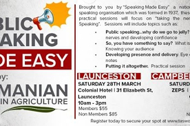 Public Speaking Made Easy! Campbell Town
