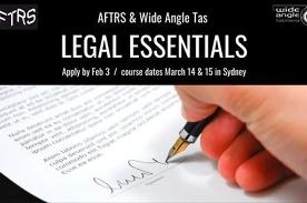 AFTRS Scholarship - Legal Essentials | Apply by Feb 3