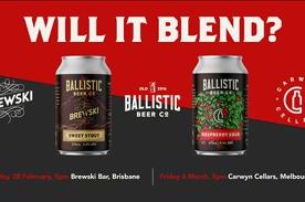 Will it blend? A Ballistic X Carwyn X Brewski experiment.