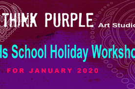 Kids school holiday arty workshops
