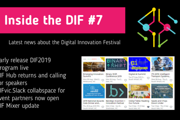 Inside the DIF #7 - DIF2019 Program early release