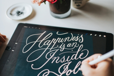 iPad Calligraphy Class: Copperplate Calligraphy