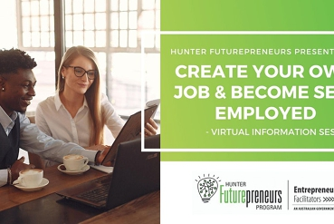 Create Your Own Job & Become Self-Employed - Virtual Information Session