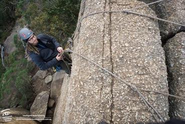 Beginners Outdoor Rock Climbing