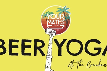 BEER YOGA AT THE BREWHOUSE