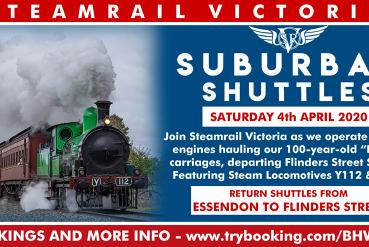 Suburban Shuttles - Saturday 4th April 2020