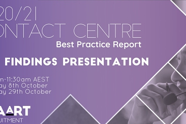 2020/21 Contact Centre Best Practice Report - Key Findings Presentation