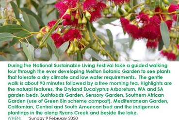 Free Guided Tour - National Sustainable Living Festival