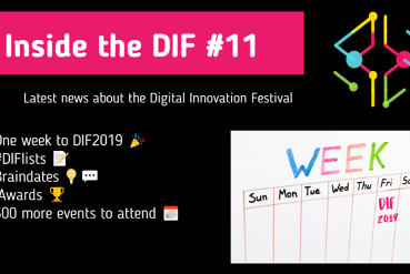 One week until the 4th Digital Innovation Festival kicks off