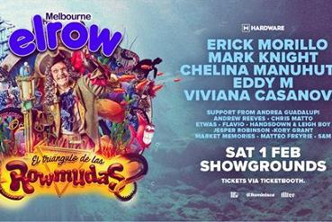 Elrow Melbourne - El triángulo de las Rowmudas