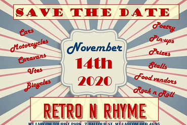 Retro n Rhyme-Classic vehicles meets Country Charm (Sat 14 Nov)