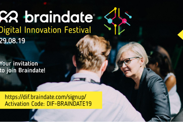 Braindate@DIF2019 - business matching with a difference!